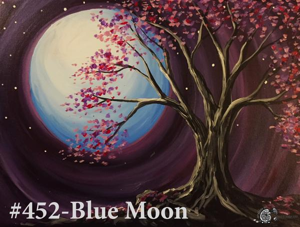 The Granite at Porpoise Bay | Blue Moon Paint Party