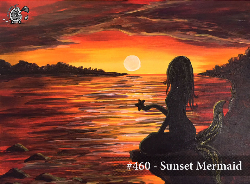Sunset Mermaid - Demo