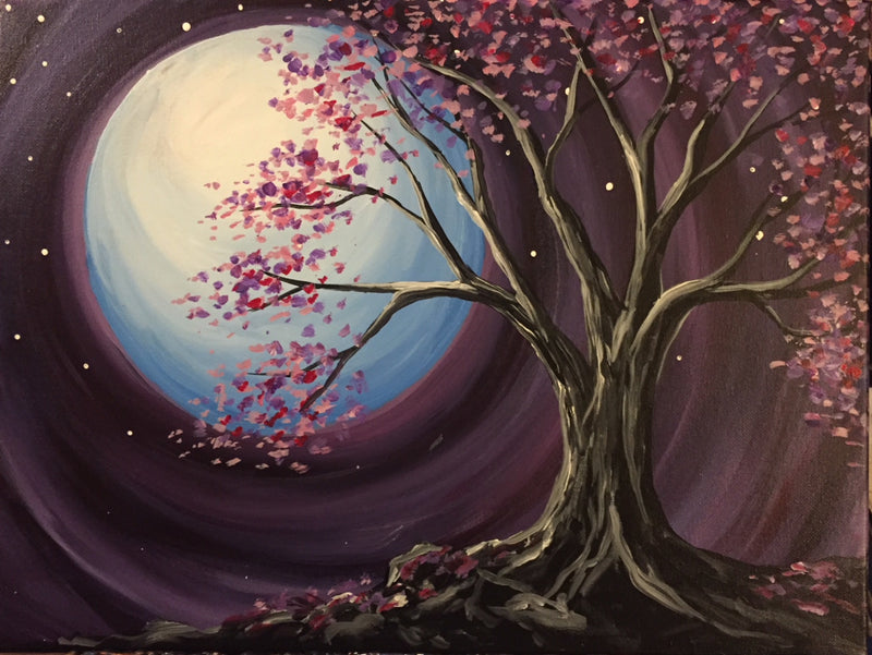 Eight at East Earth Day Paint Party