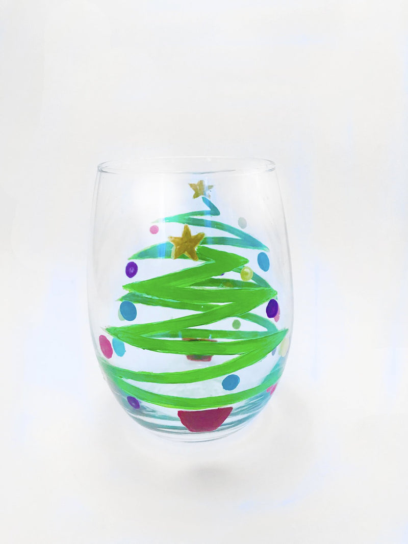 Central 28 Brewing | Holiday Glassware Paint Event | Nov. 19th from 7 - 9 PM