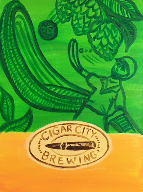 GB's Bottle Shop & Cigar City's Brewing Jai Alai Logo Painting Party