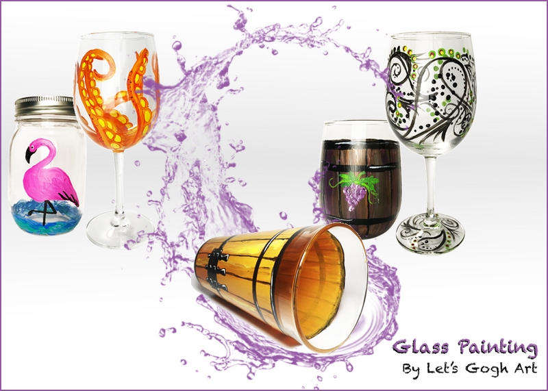 Orchard Hills Community | Fall Wine Glass Painting Event (18+) | Oct. 23rd 6:30 PM