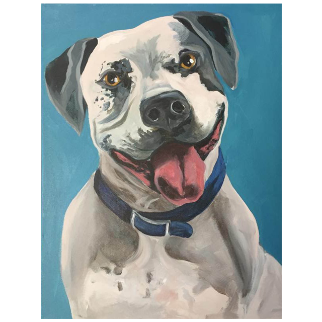 Pet Portrait - $40 per painter