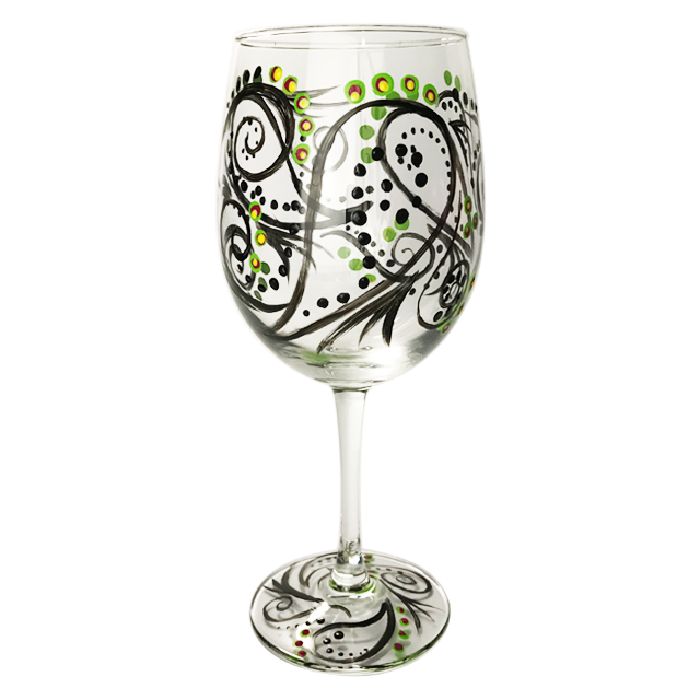Wine Glass Painting - $25 per Painter | $40 for Two