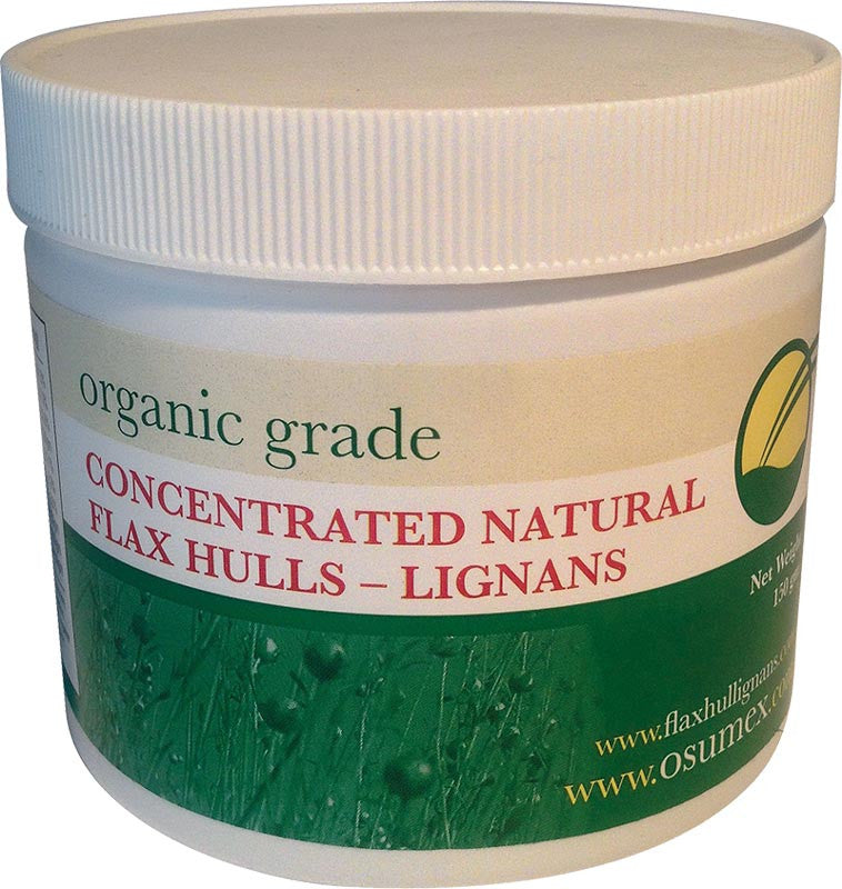 Natural Concentrated Flax Hulls - Organic Grade