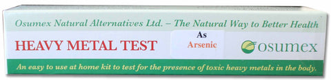 Heavy Metal Specific Test Kit - Arsenic (As)