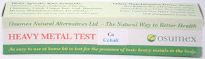 Heavy Metal Specific Test Kit - Cobalt Reg (CoR)