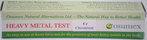 Heavy Metal Specific Test Kit - Chromium (Cr)