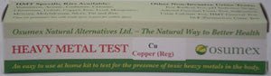 Heavy Metal Specific Test Kit - Copper Reg (CuR)