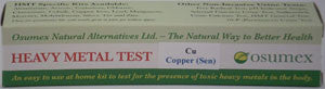 Heavy Metal Specific Test Kit - Copper Sensitive (CuS)