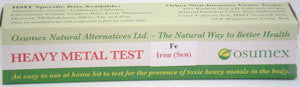 Heavy Metal Specific Test Kit - Iron Sensitive (FeS)