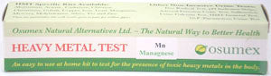 Heavy Metal Specific Test Kit - Manganese (Mn)