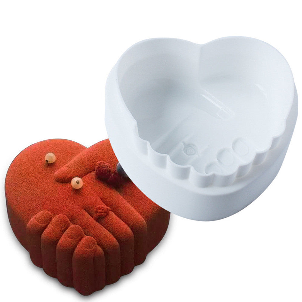 Silicone Cake Decorating Mold For Chiffon Mousse Dessert Baking Pan - Trendy Smilez