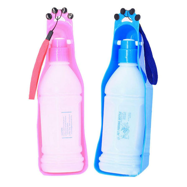 New Folding Pet Water Bottle Dispenser Dog Cat Water Bottle Drinking Feeding For Pet Travel - Trendy Smilez