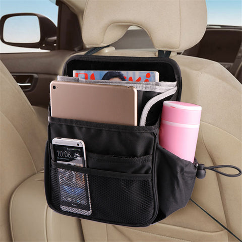 Waterproof Portable Car Seat Organizer Holder Storage Bag Multi-Pocket Messenger Bag