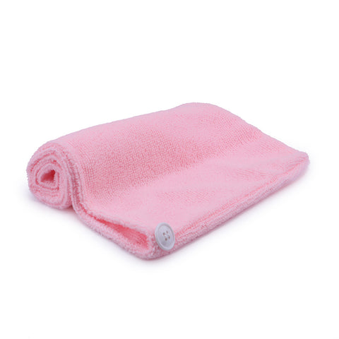 Women Hair Towel Microfiber Soft Twist Hair Turban Wrap Fast Drying Cap - Trendy Smilez