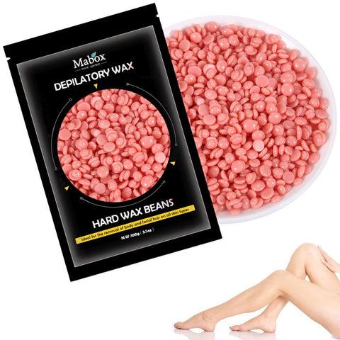 No Strip Depilatory Hot Film Hard Wax Pellet Waxing Bikini Hair Remover Bean - Trendy Smilez
