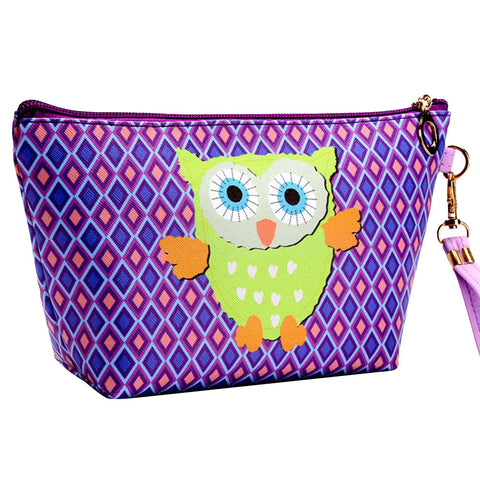 Women Make Up Bag Waterproof Cosmetic Storage Pouch Travel Wash Bag with Handle