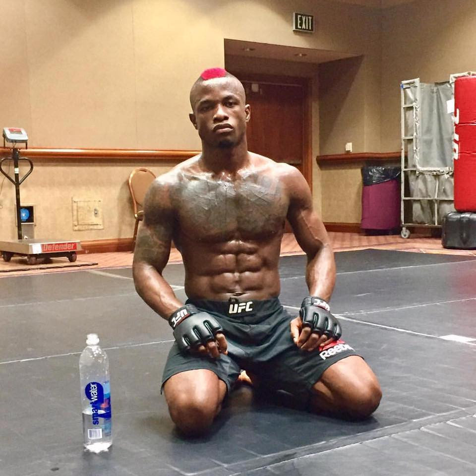 Heavy Duty Fighter Marc Diakiese ready to do the business in Vegas.