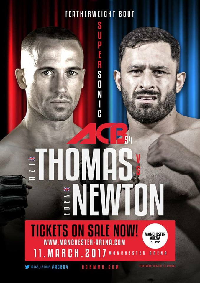 HD Athlete Azi Thomas Looking To Make a Statement At ACB Manchester & Then Look For Title Fight On EFC Africa.