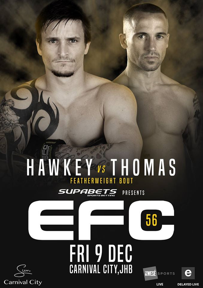 Count Down To Azi Thomas Owning It At EFC 56.