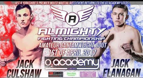 HD Fight Management & ASW Hemsworth Athlete Jack Culshaw Looking For Another Impressive Win At Almighty FC.