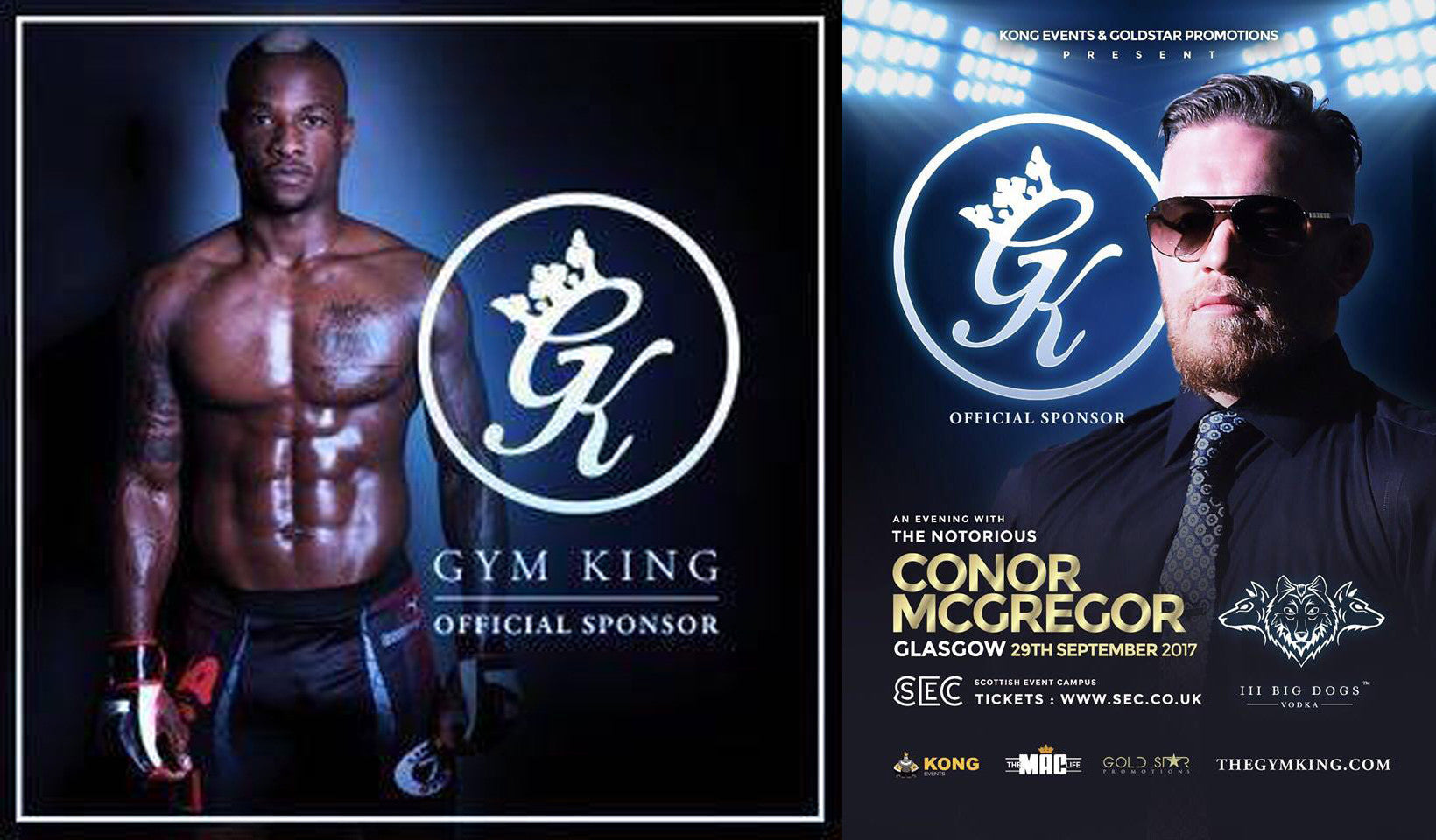 Heavy Duty Fighter Marc Diakiese joins Connor McGregor as brand ambassador for Gym King