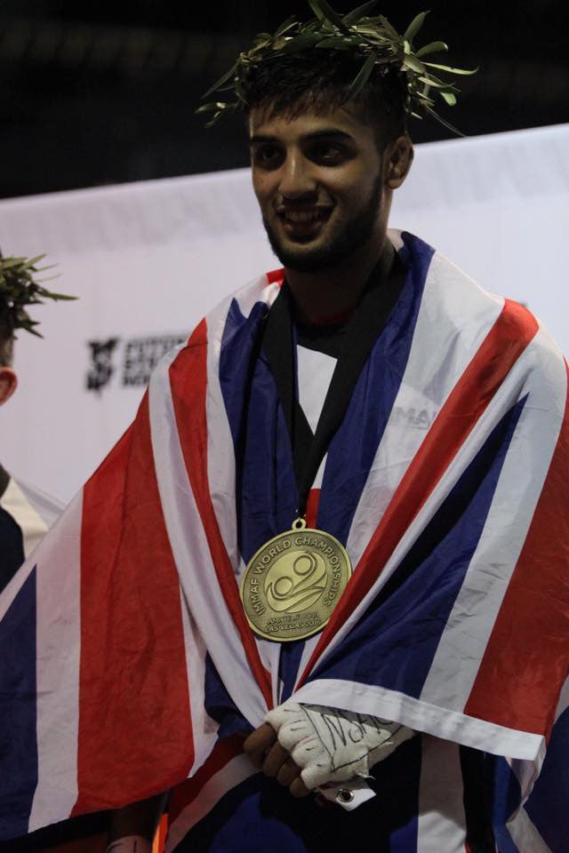 IMMAF Gold Medalist Shoaib Yousef Becomes Brand Ambassador For Heavy Duty Nutrition