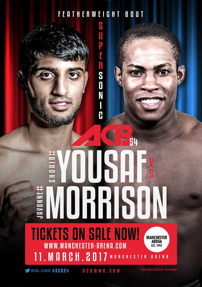 HD Athlete Shoaib Yousef Set for Big Return At ACB Manchester.