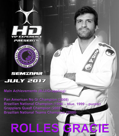 ROLLES GRACIE HD VIP EXPERIENCE
