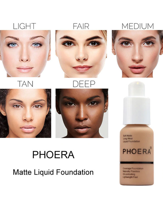 PHOERA Liquid Foundation Matte Coverage