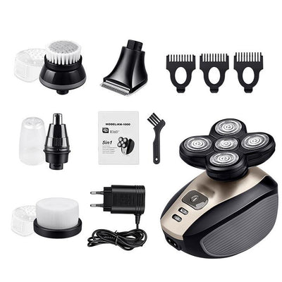 ShaveEAZE™ 5-in-1 Easy Head Shaver