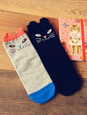 Cute Cat Socks