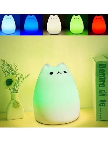 Cat Colour Changing Light - SAVE 50% TODAY