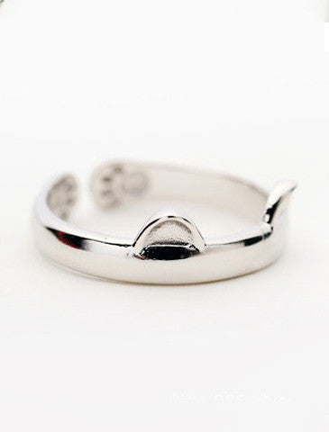 Cute Cuddly Cat Ring (Adjustable Size)