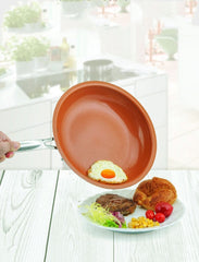 SLIPSY® Non-stick Copper/Ceramic Frying Pan - SAVE 60% TODAY