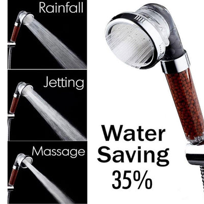 Ionic Shower Head® Rainfall System