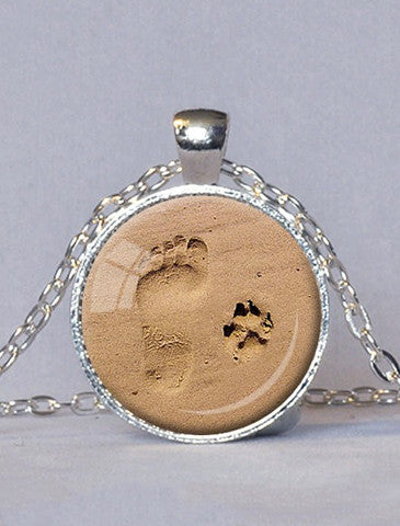 By My Side Forever Dog Necklace