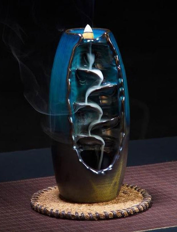 IncenseLUX™ Mountain River Handicraft Incense Holder