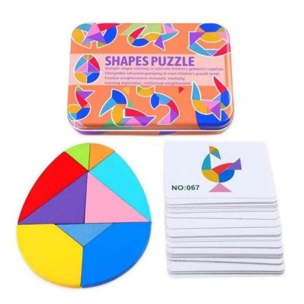Learn N' Explore™ Wooden Shape Educational Puzzle Toy