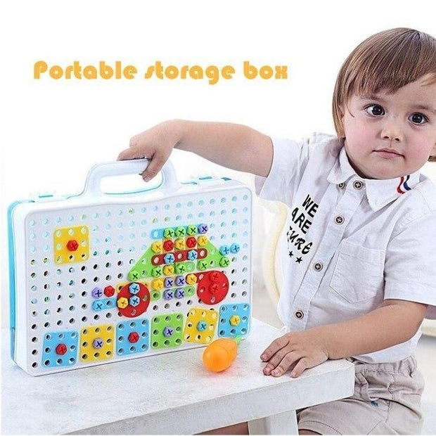 Kids Electric Drill Puzzle Toy
