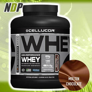 Cellucor /// Whey - Molten Choc (4lbs)