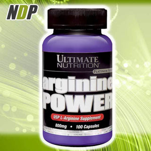 Ultimate Nutrition /// Arginine - 100 cap