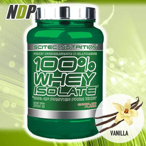 Scitec Nutrition /// 100% Isolate - Vanilla (1.5lb)