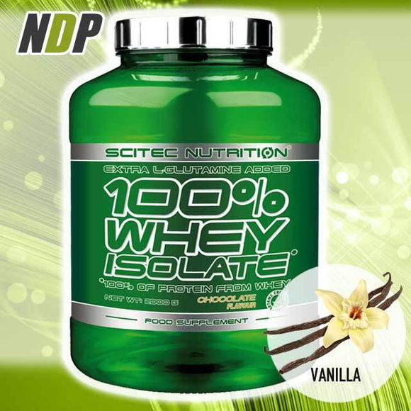 Scitec Nutrition /// 100% Isolate - Vanilla (4.4lb)