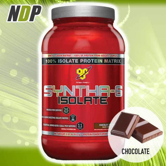 BSN /// Syntha-6 ISOLATE - Chocolate (2lbs)