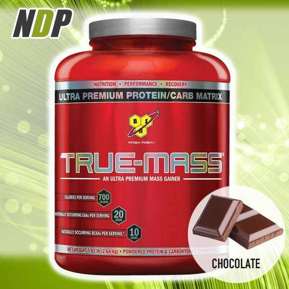 BSN /// True Mass - Chocolate (5.82lbs)