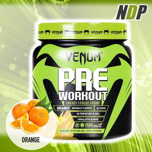 Venum /// Pre Workout - Orange (30 servings)