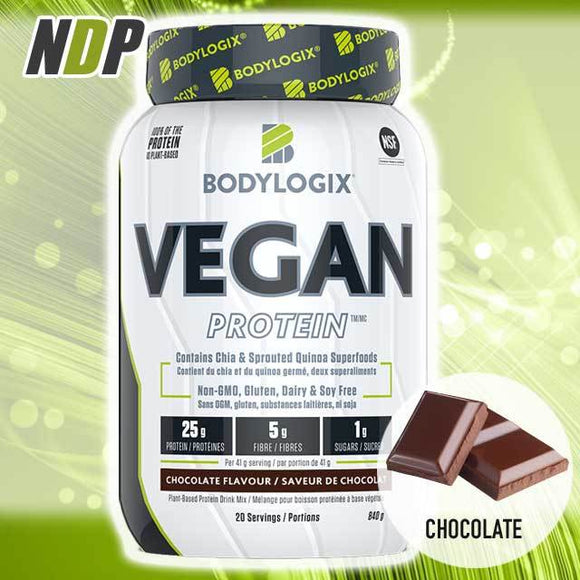 Bodylogix /// Vegan Protein - Chocolate (2lb)