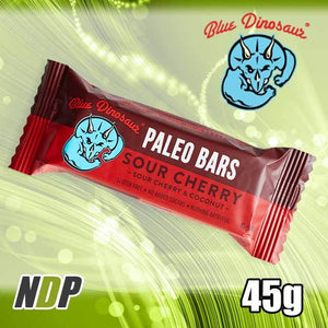 Sour Cherry /// Paleo Bar - Blue Dinosaur (45g)